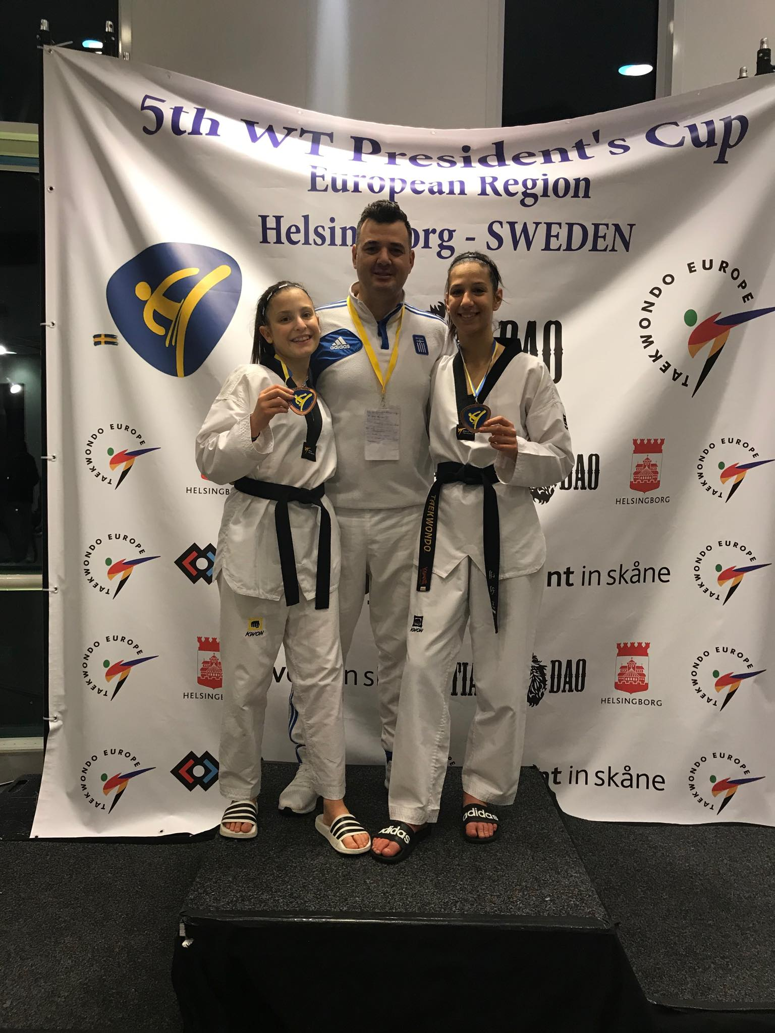 Χάλκινα μετάλλια για δύο… juniorAiantakia στο Presidents Cup 2020
