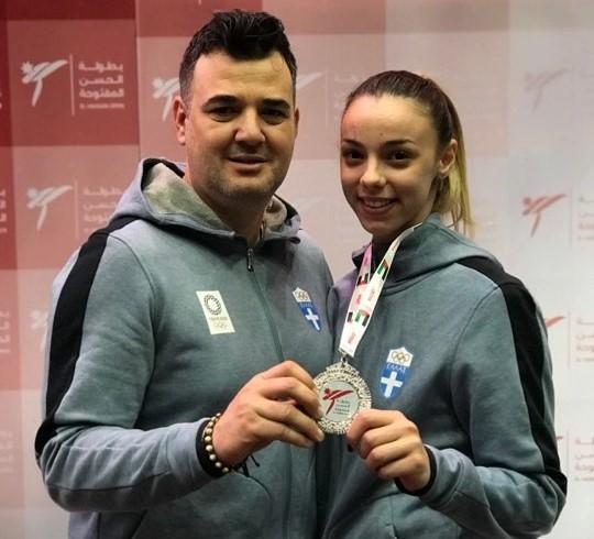Ασημένιο μετάλλιο για την Μητσοπούλου στο El Hassan Open G1