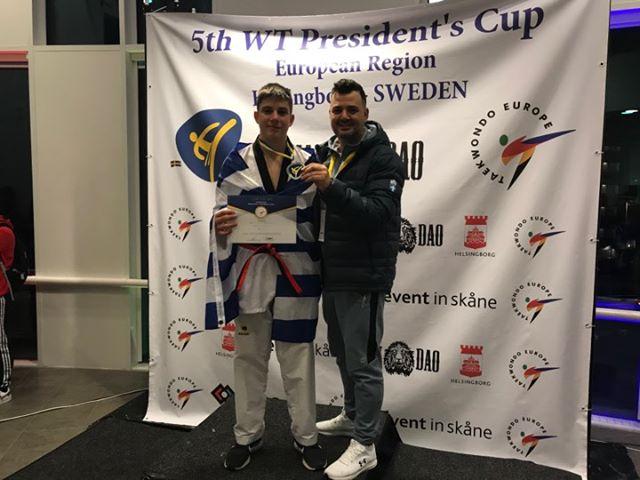 Ασημένιο μετάλλιο ο Σταθόπουλος στο Presidents Cup 2020