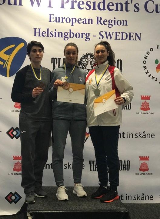 Χάλκινο μετάλλιο η Μητσοπούλου στο Helsingborg Open G1