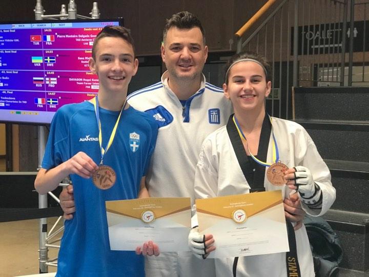 Φινάλε με δύο χάλκινα μετάλλια στο Helsingborg Open για τον Αίαντα